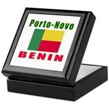 Porto-Novo Benin Designs Keepsake Box