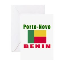 Porto-Novo Benin Designs Greeting Card