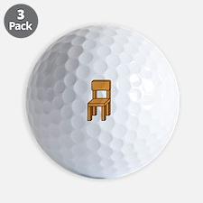notmychairwhite Golf Ball