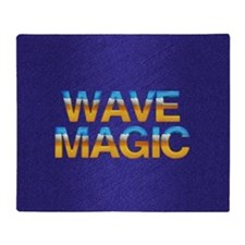 Wave Magic Throw Blanket