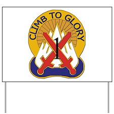 DUI - 1st BCT - Warrior Brigade Yard Sign