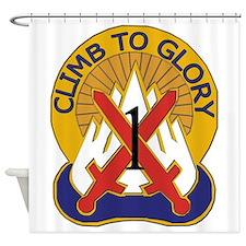 DUI - 1st BCT - Warrior Brigade Shower Curtain