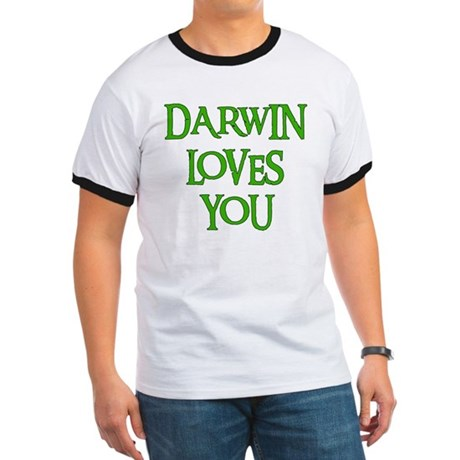 Darwin Loves You Ringer T