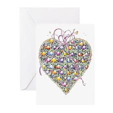 Cynthia Bainton Valentine Cards (pk of 10) -basket