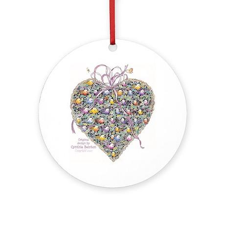 Cynthia Bainton Heart Basket Ornament