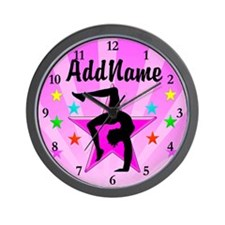 GYMNAST WINNER Wall Clock