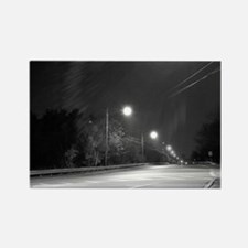 Street Lights Rectangle Magnet