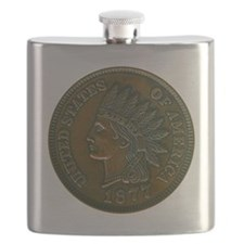 pennyIndian-C8trans Flask
