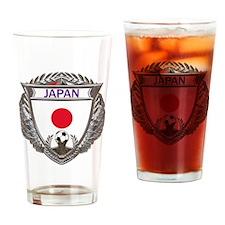 2-Japan Soccer bear Drinking Glass