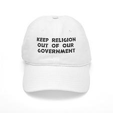 No Religion In Government Baseball Cap