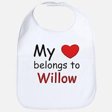 I love willow Bib