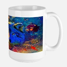 Rainbow Wolf Mug