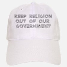 No Religion In Government Baseball Baseball Cap