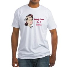 Nobody Knows Im A Lesbian Shirt