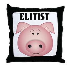 elitistp Throw Pillow