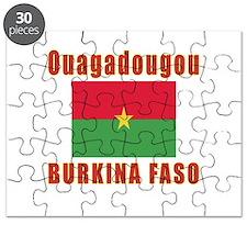 Ouagadougou Burkina Faso Designs Puzzle