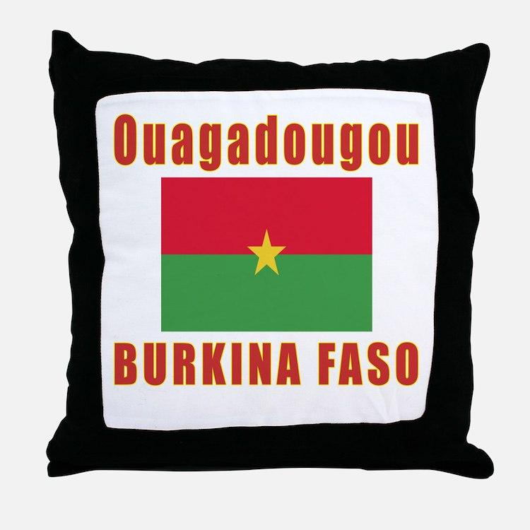 Ouagadougou Burkina Faso Designs Throw Pillow