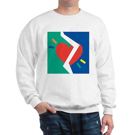 Separated Heart Sweatshirt