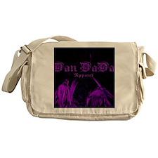 DanDaDaPurplePalm Messenger Bag