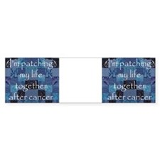 Blue Pathwork Mug Bumper Sticker