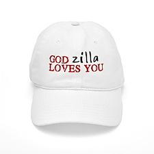 Godzilla Loves You Baseball Cap