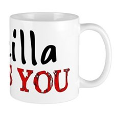Godzilla Loves You Mug