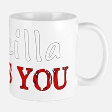 Godzilla Loves You Mug