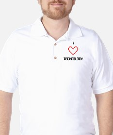 I Love (Heart) Technology - T-Shirt