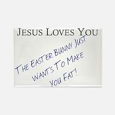 Jesus Easter Rectangle Magnet