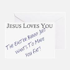 Jesus Easter Greeting Card