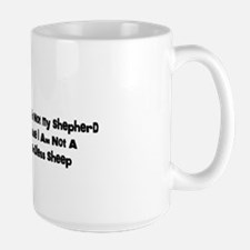 I am Not a Sheep Mug