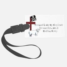 Not A Mindless Sheep Luggage Tag