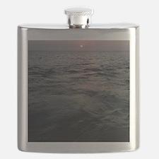 Sunset on Fire Island Flask