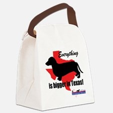 Everything is bigger Canvas Lunch Bag