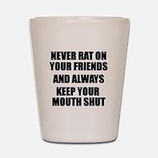 Never Rat Shot Glass