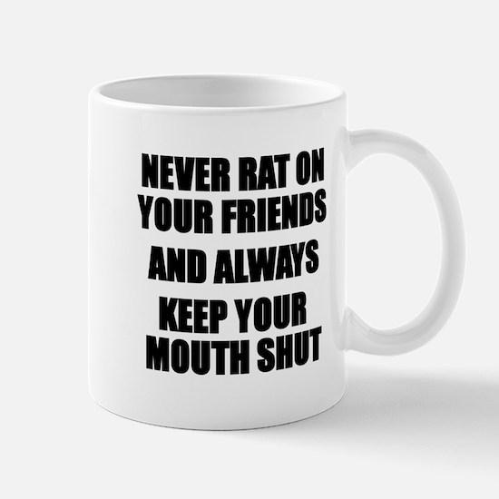 Never Rat Mugs