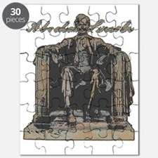 Lincoln sculpture only Puzzle