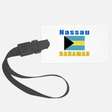 Nassau Bahamas Designs Luggage Tag