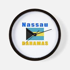 Nassau Bahamas Designs Wall Clock