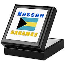 Nassau Bahamas Designs Keepsake Box