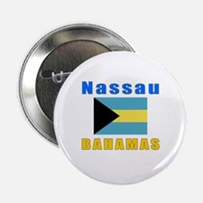 "Nassau Bahamas Designs 2.25"" Button"