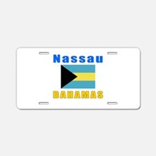Nassau Bahamas Designs Aluminum License Plate
