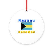 Nassau Bahamas Designs Ornament (Round)