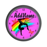 Girls gymnastics Basic Clocks
