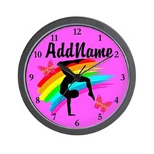 GYMNAST STAR Wall Clock