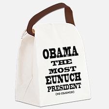 Cojones Canvas Lunch Bag