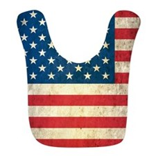 Vintage USA Flag Bib