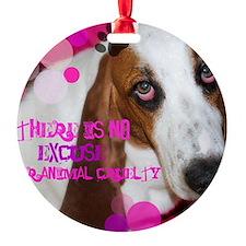 Fight Animal cruelty Ornament