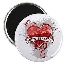 heart2NewJersey1 Magnet