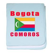 Bogota Comoros Designs baby blanket